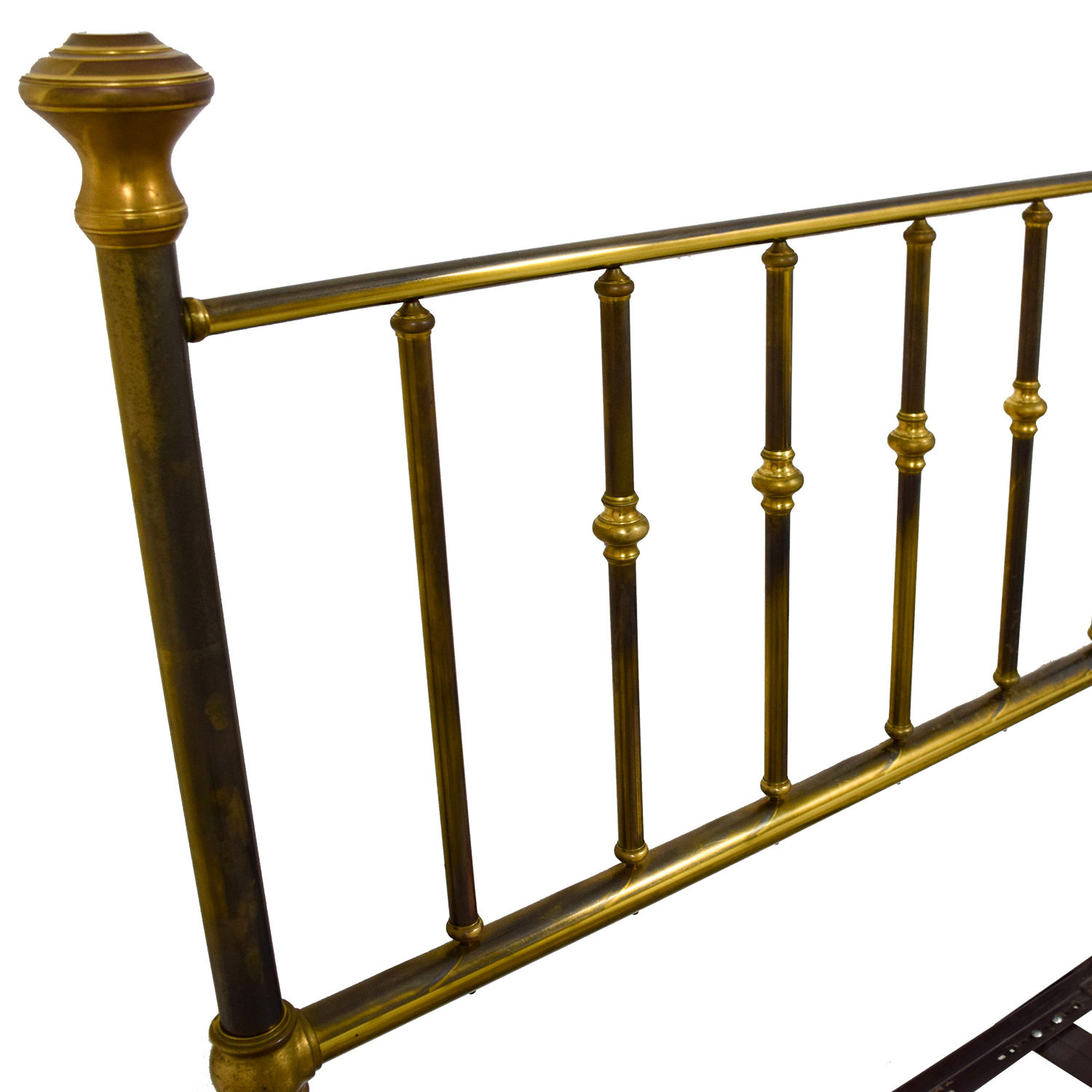 shop Charles P. Rodgers Putnam King Brass Bed Frame Charles P. Rodgers