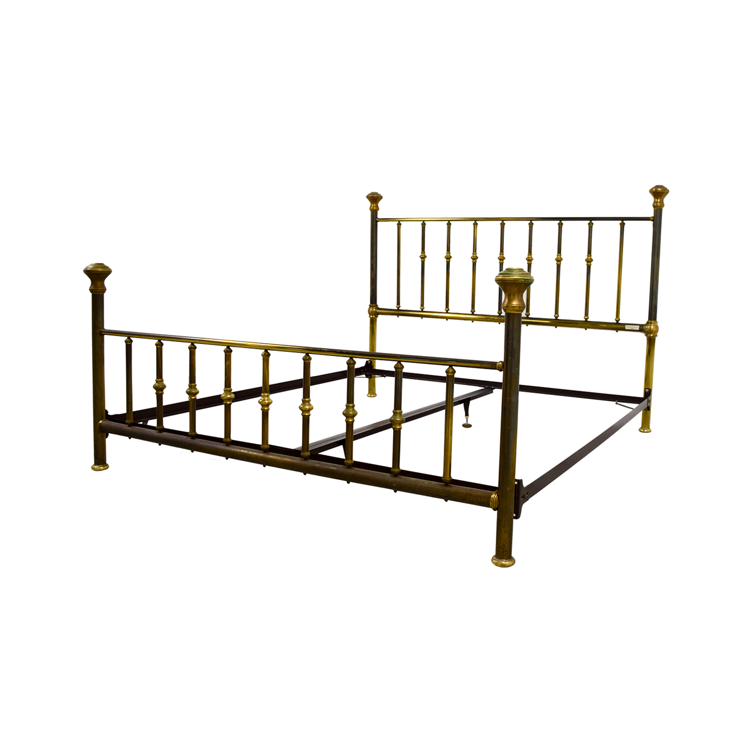 Charles P. Rodgers Charles P. Rodgers Putnam King Brass Bed Frame Beds