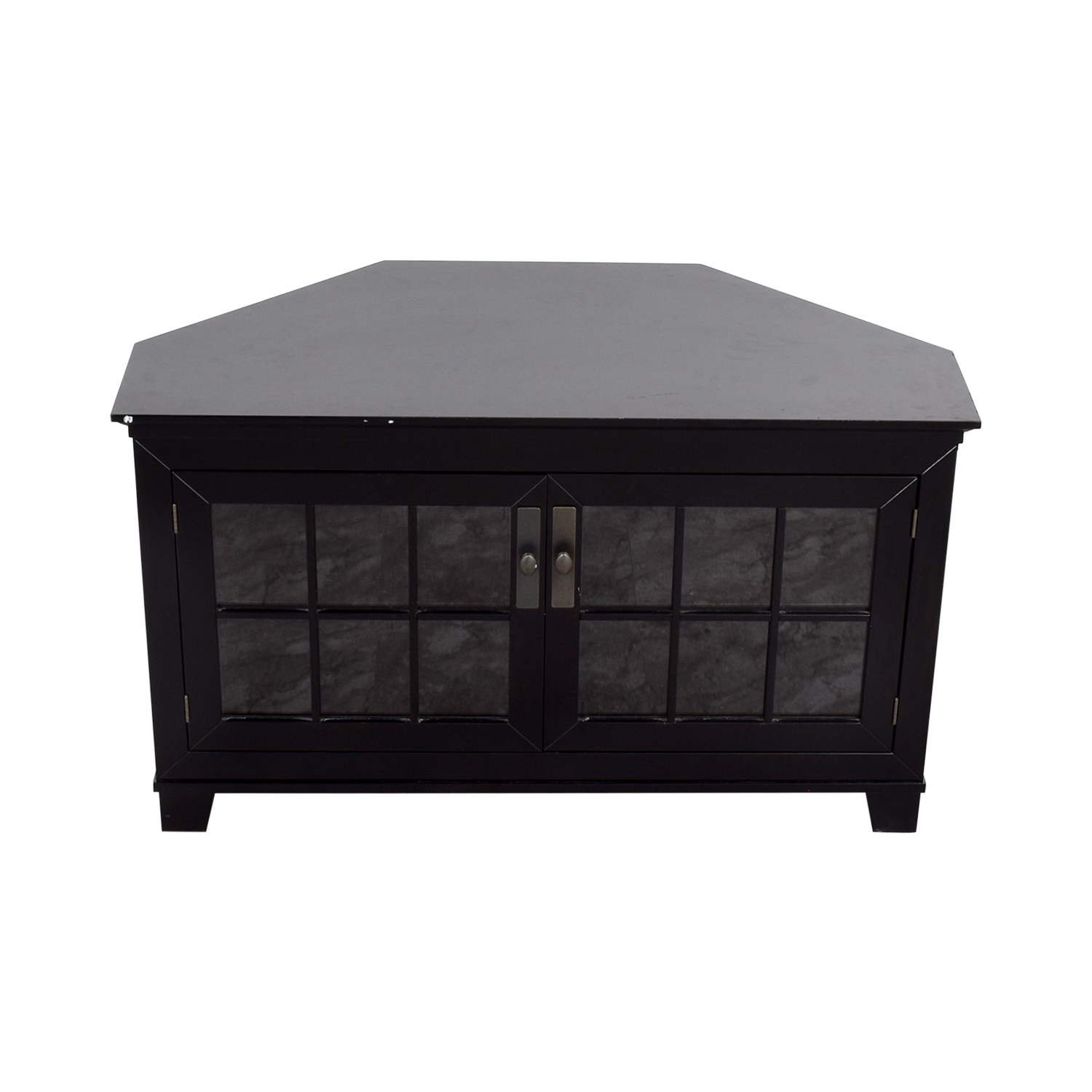 Crate & Barrel Crate & Barrel Wood and Glass Media Console coupon