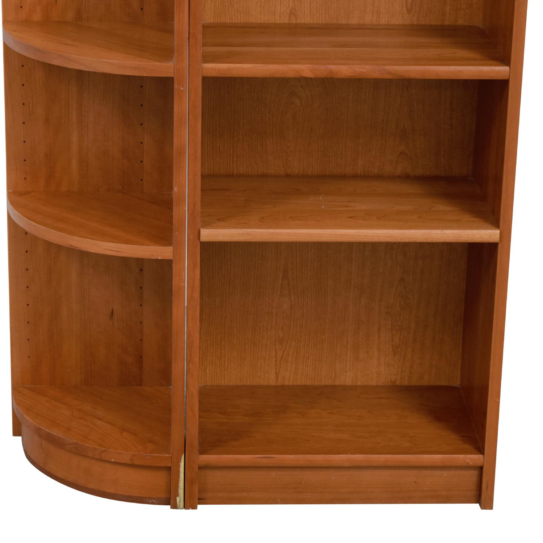Workbench Workbench Double Wood Bookcase Storage