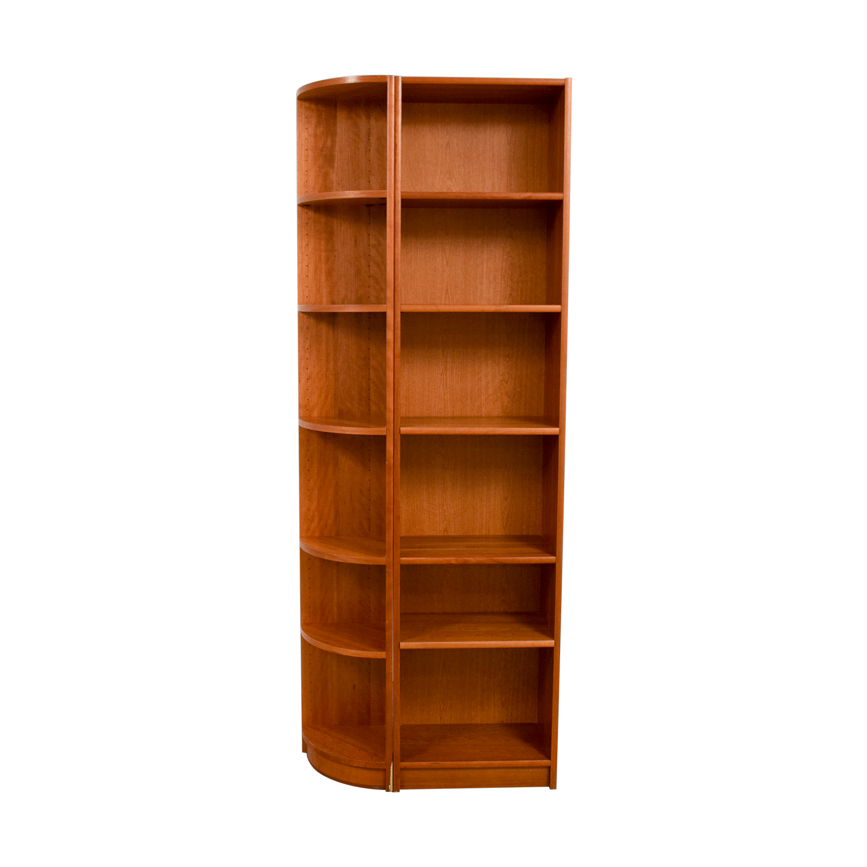 Workbench Double Wood Bookcase Workbench