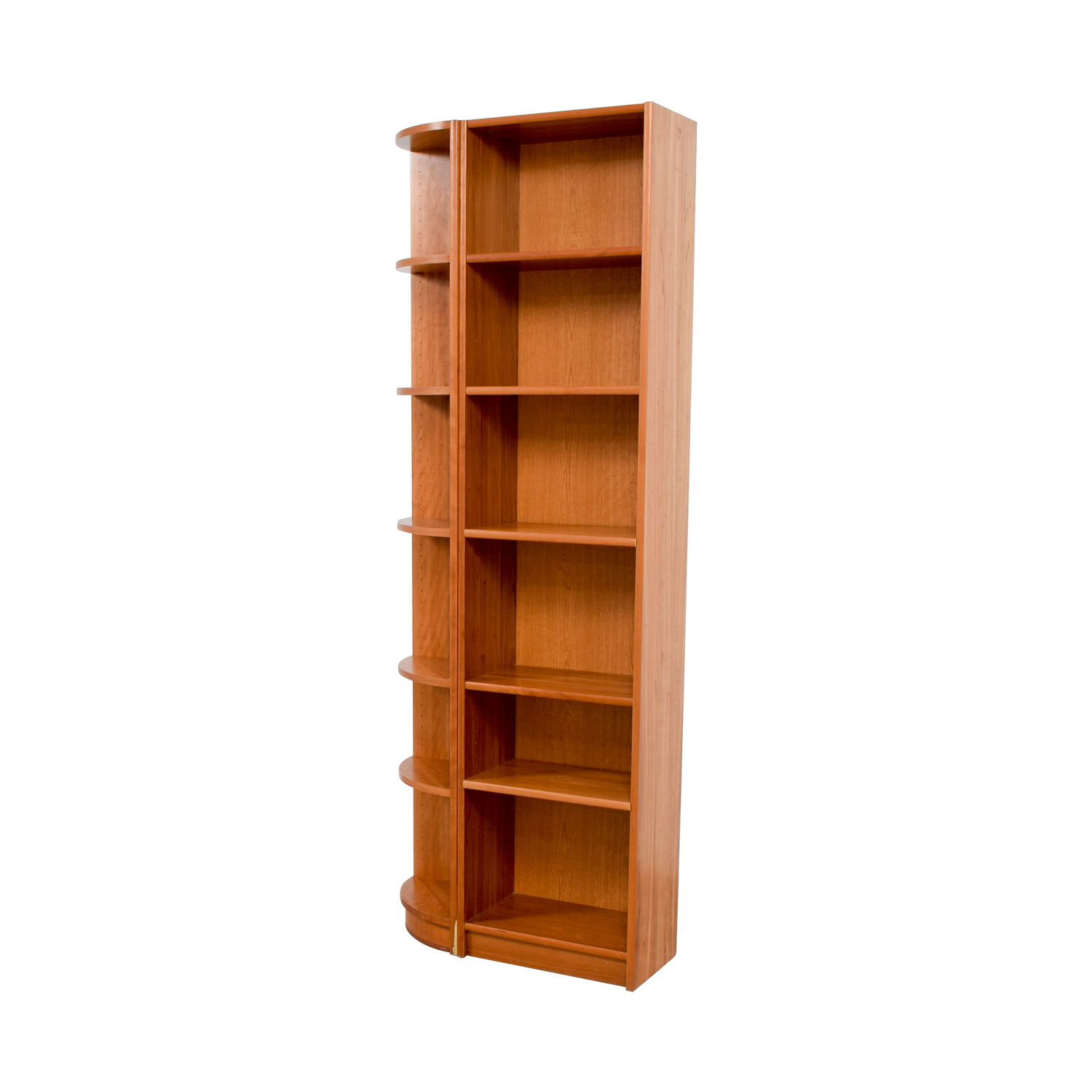 Used Wood Bookcases ~ Off workbench double wood bookcase storage