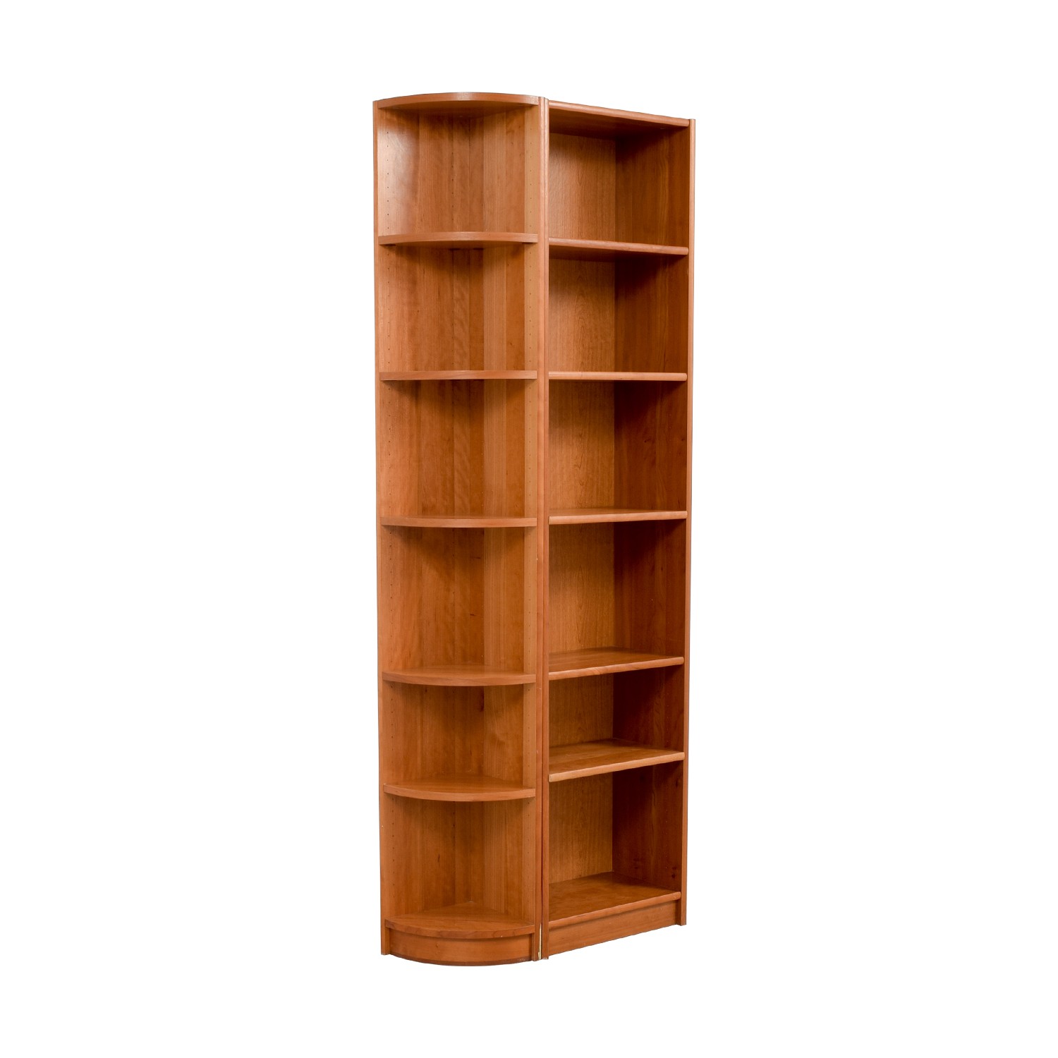 Workbench Workbench Double Wood Bookcase discount