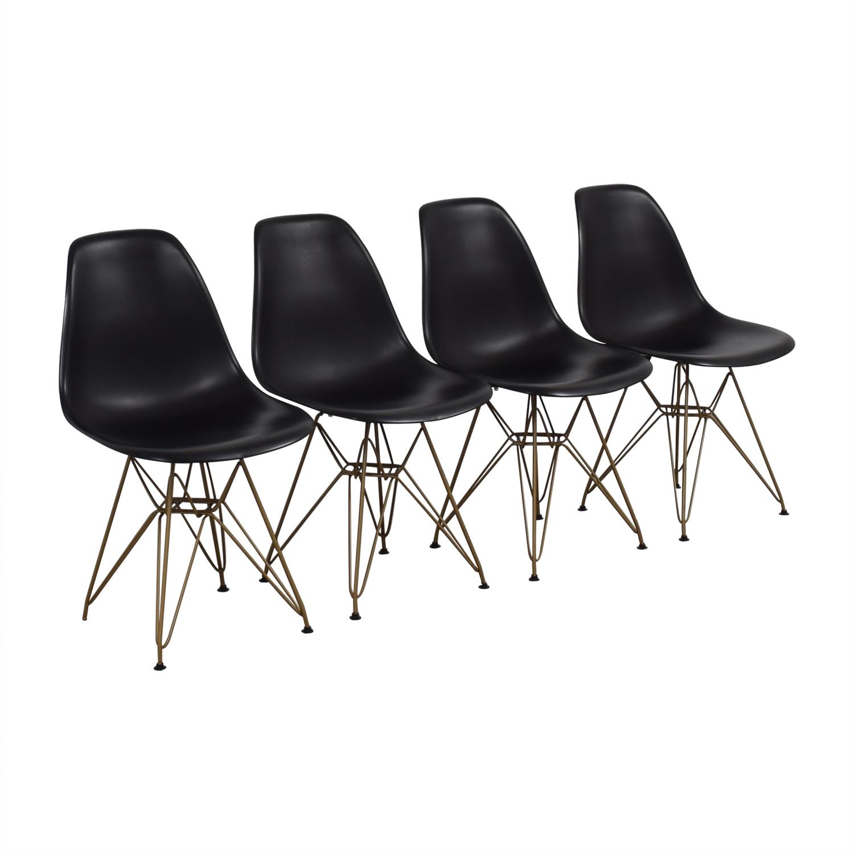 Junia Junia Black Side Chairs Dining Chairs