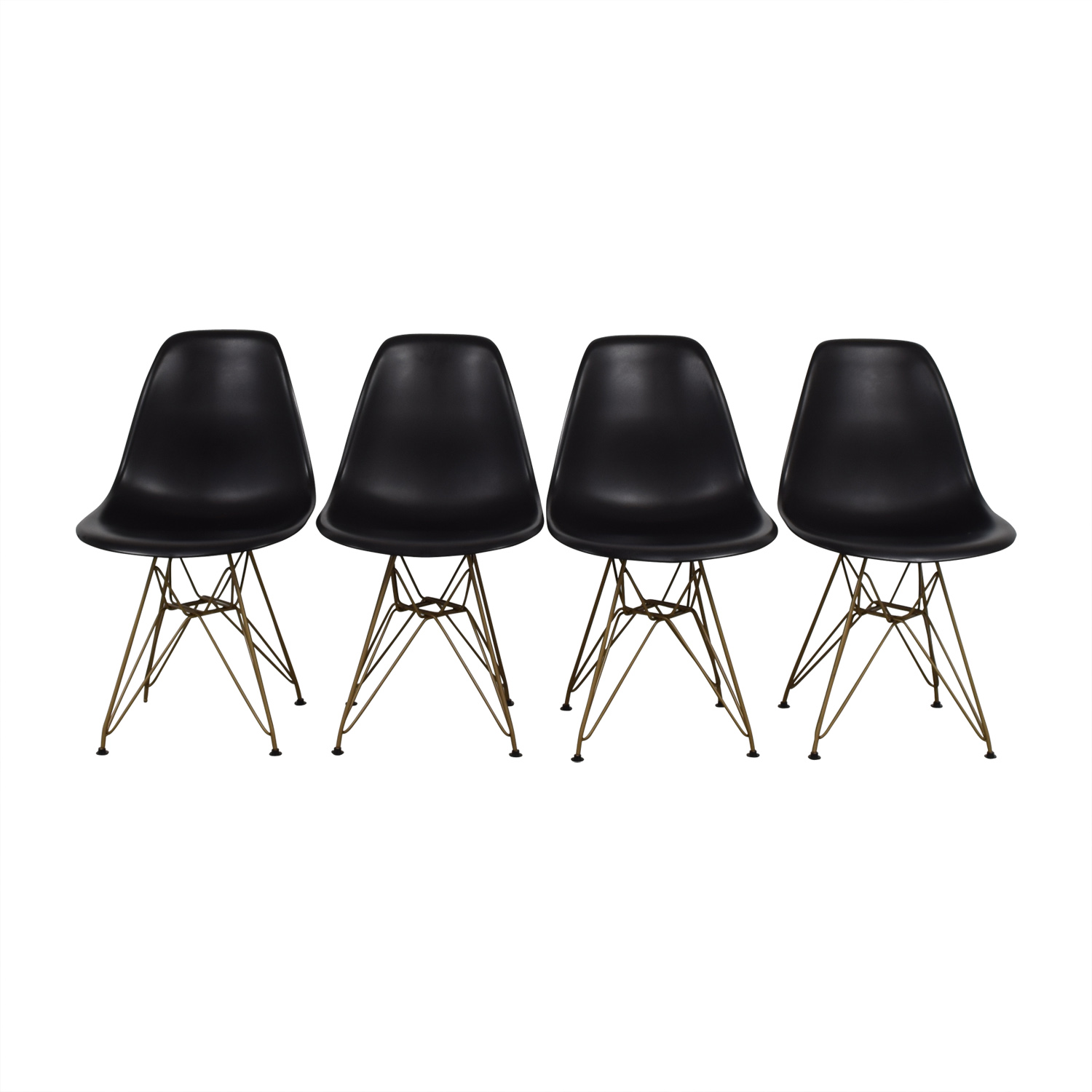 Junia Junia Black Side Chairs used