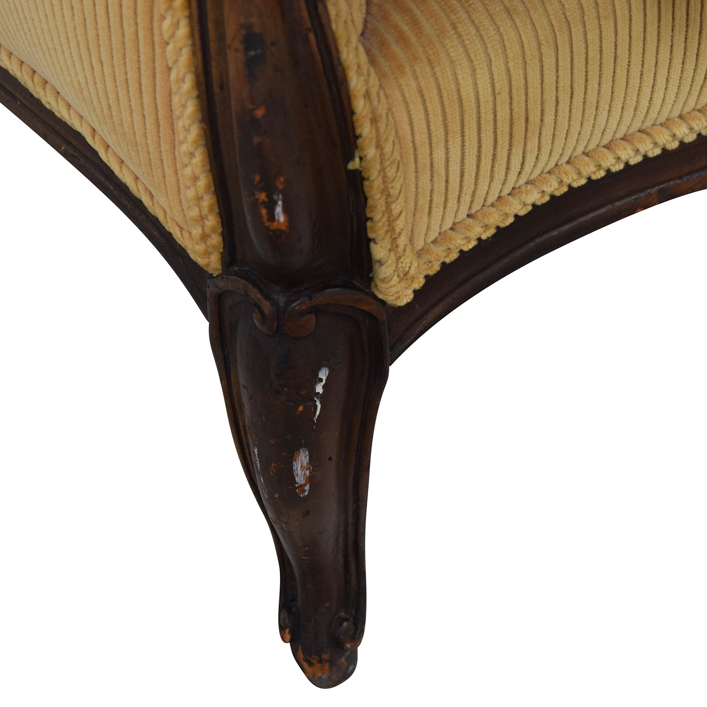shop Indigo Yellow Single Cushion Couch Sofas