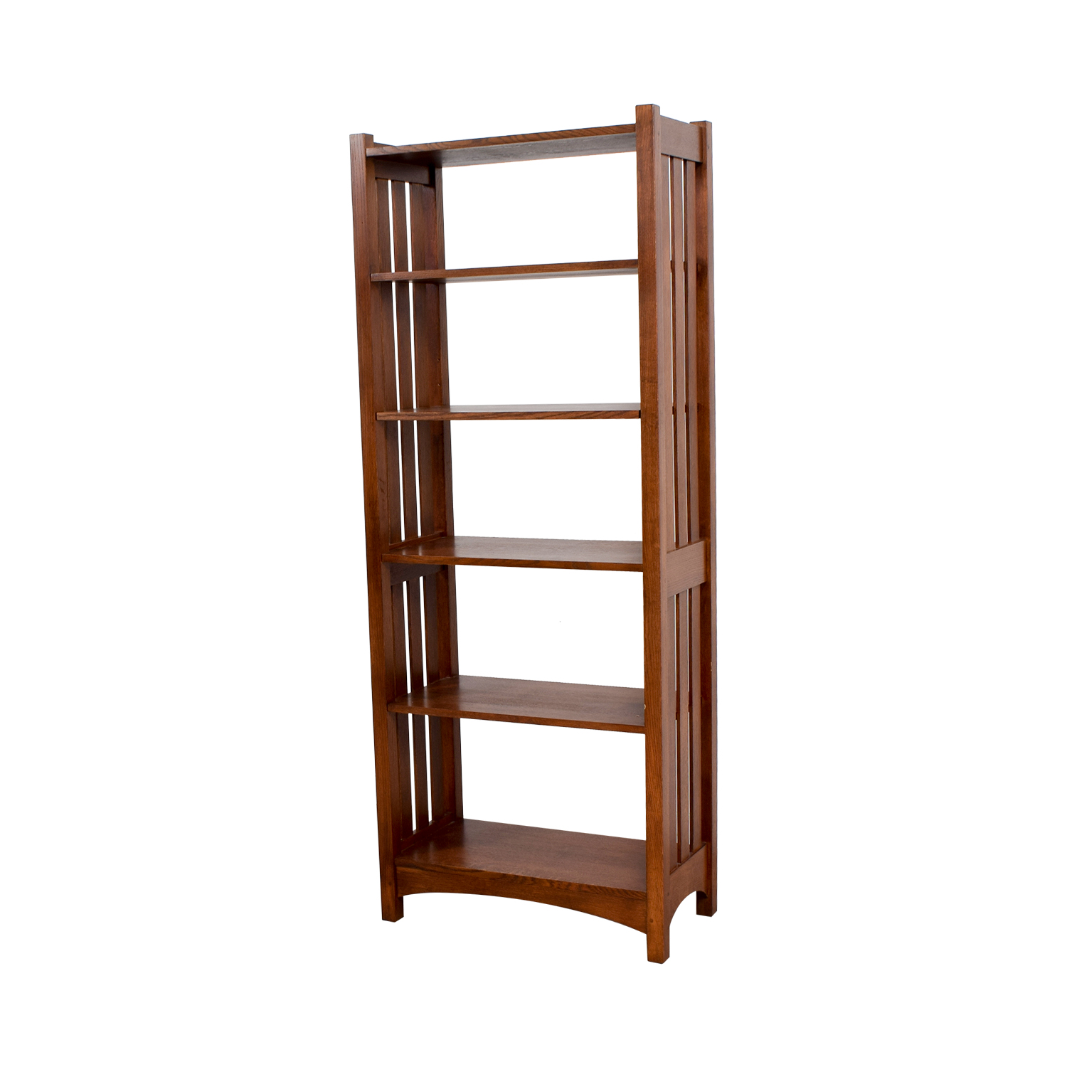 ABC Carpet and Home ABC Carpet and Home Wood Caged Bookcase second hand
