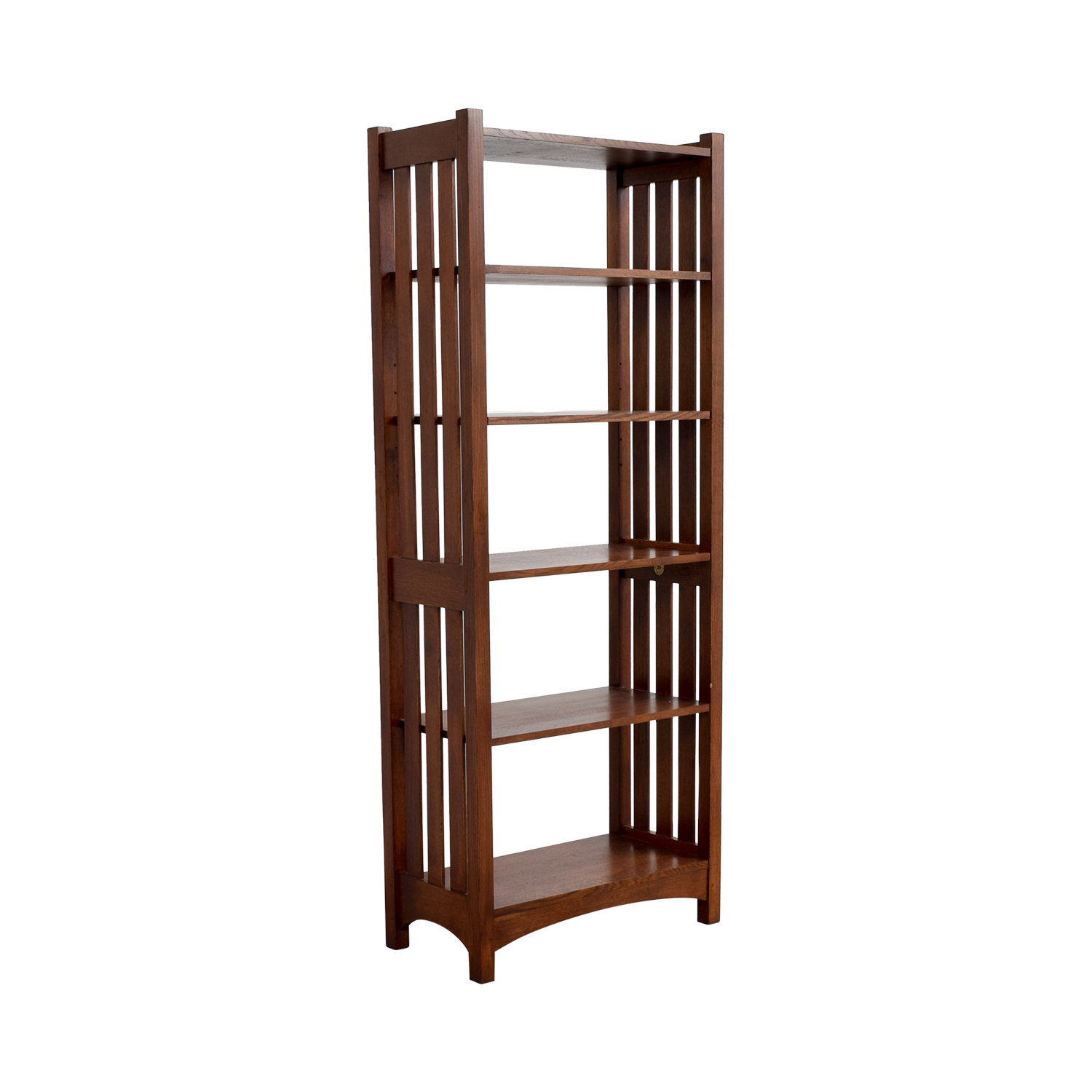 ABC Carpet and Home Wood Caged Bookcase / Bookcases & Shelving