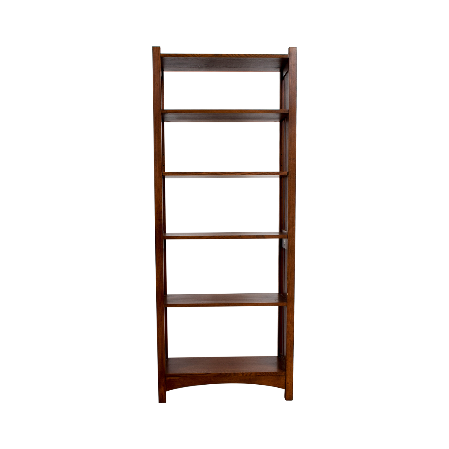 ABC Carpet and Home Wood Caged Bookcase sale