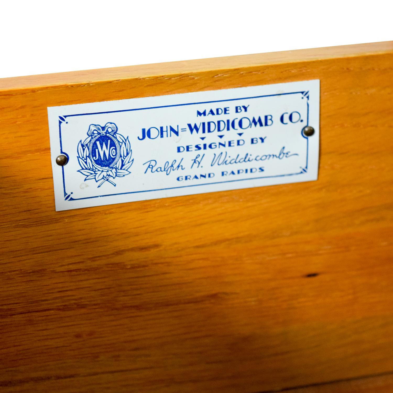 John Widdicomb Co John Widdicomb Co Brown Six-Drawer Dresser nj
