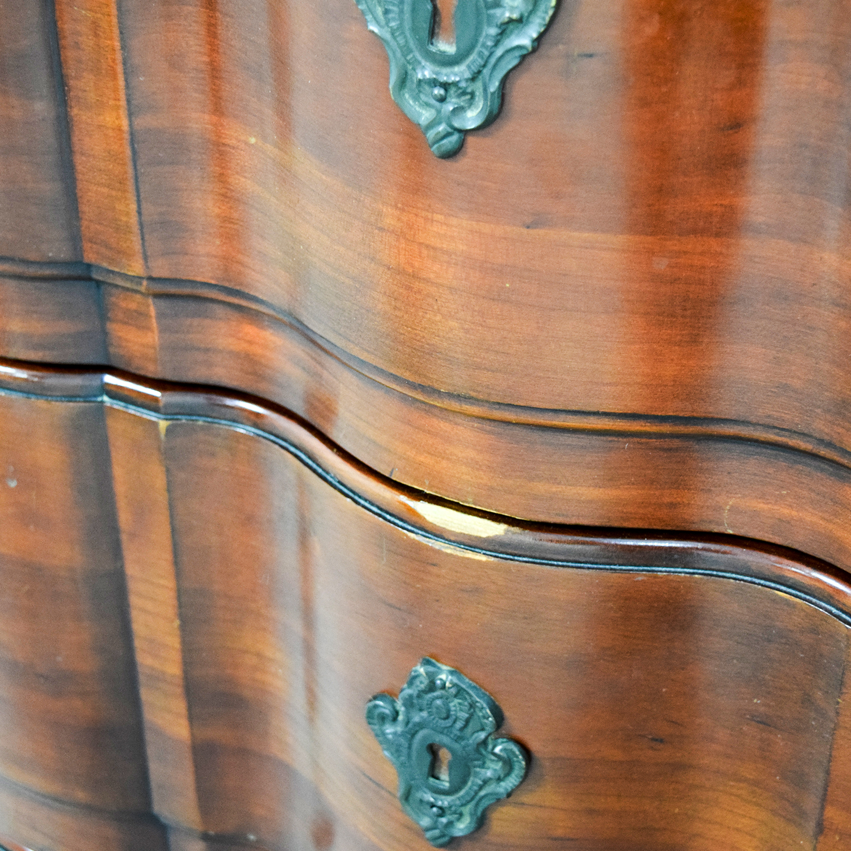 John Widdicomb Co John Widdicomb Co Brown Six-Drawer Dresser on sale