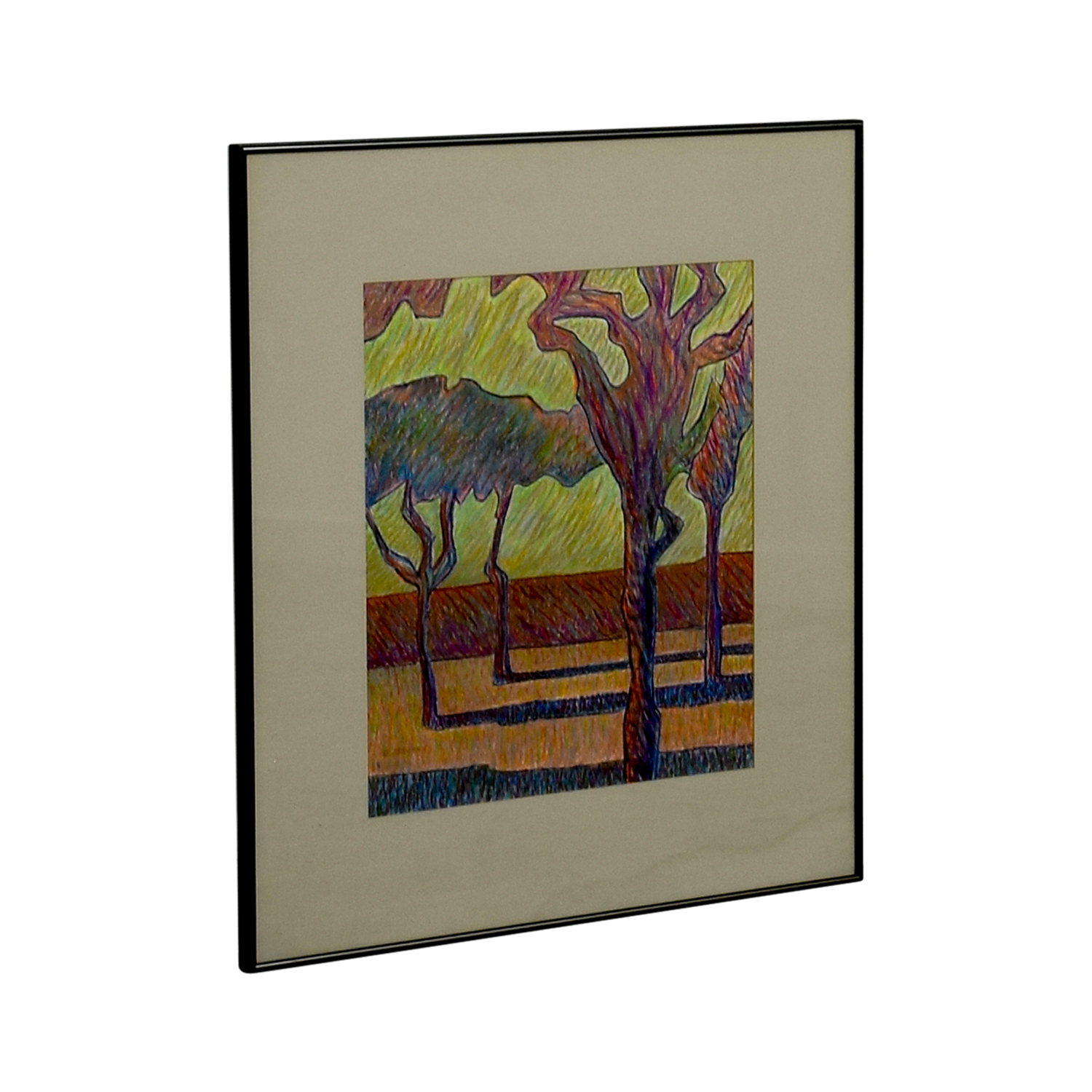 shop Framed Tree Drawing Wall Art Wall Art