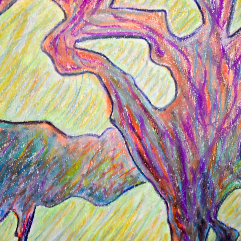 Framed Tree Drawing Wall Art coupon