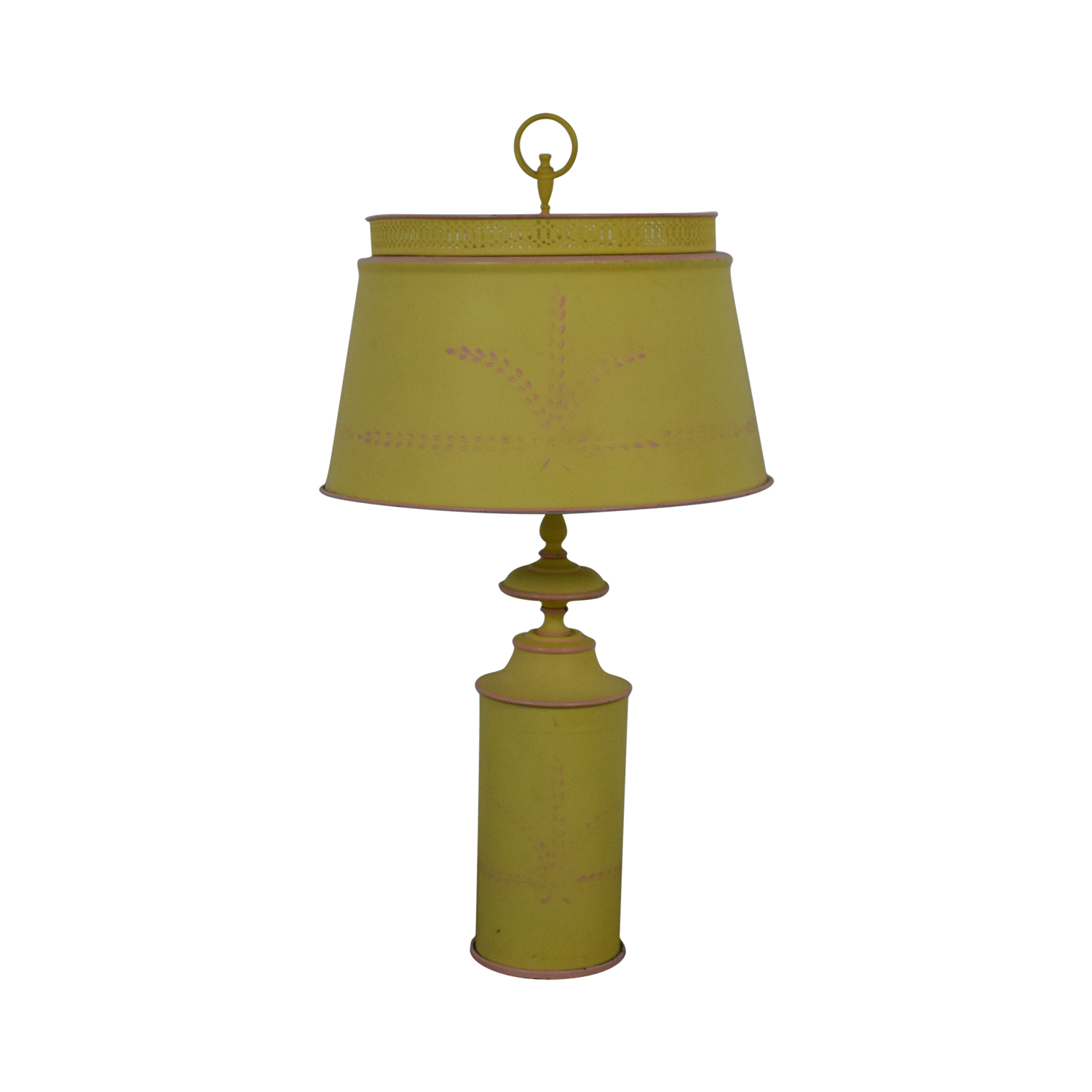 Small Green Yellow Table Lamp Yellow ...