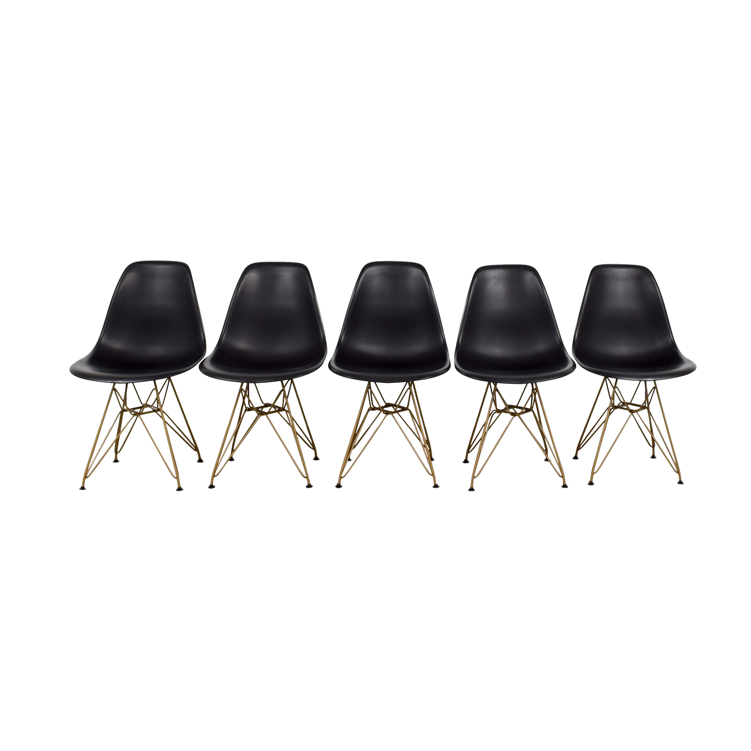 Junia Black Side Chairs on sale