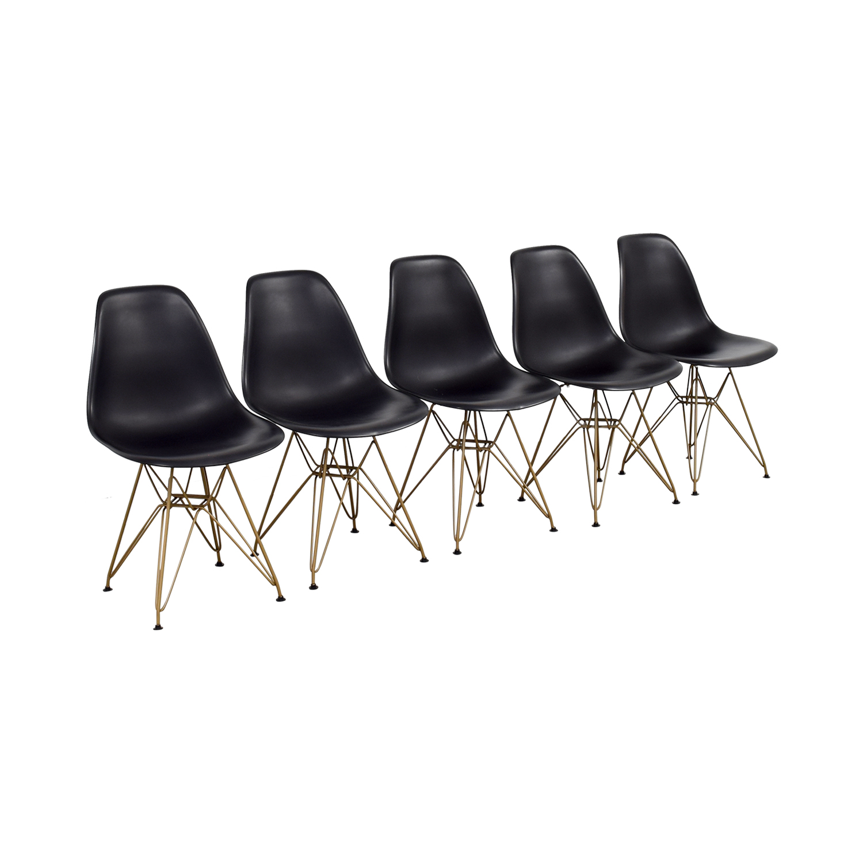 Junia Black Side Chairs nyc