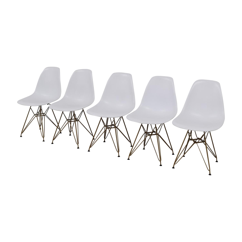 shop Junia White Side Chairs Junia Chairs