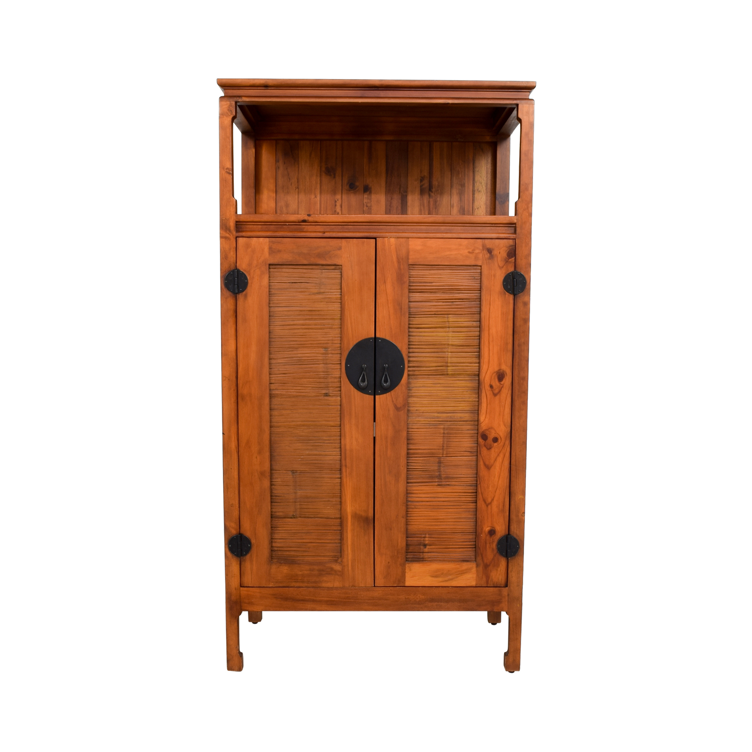 Pier 1 Imports Pier 1 Imports Asian Armoire Or Entertainment Cabinet Second  Hand ...