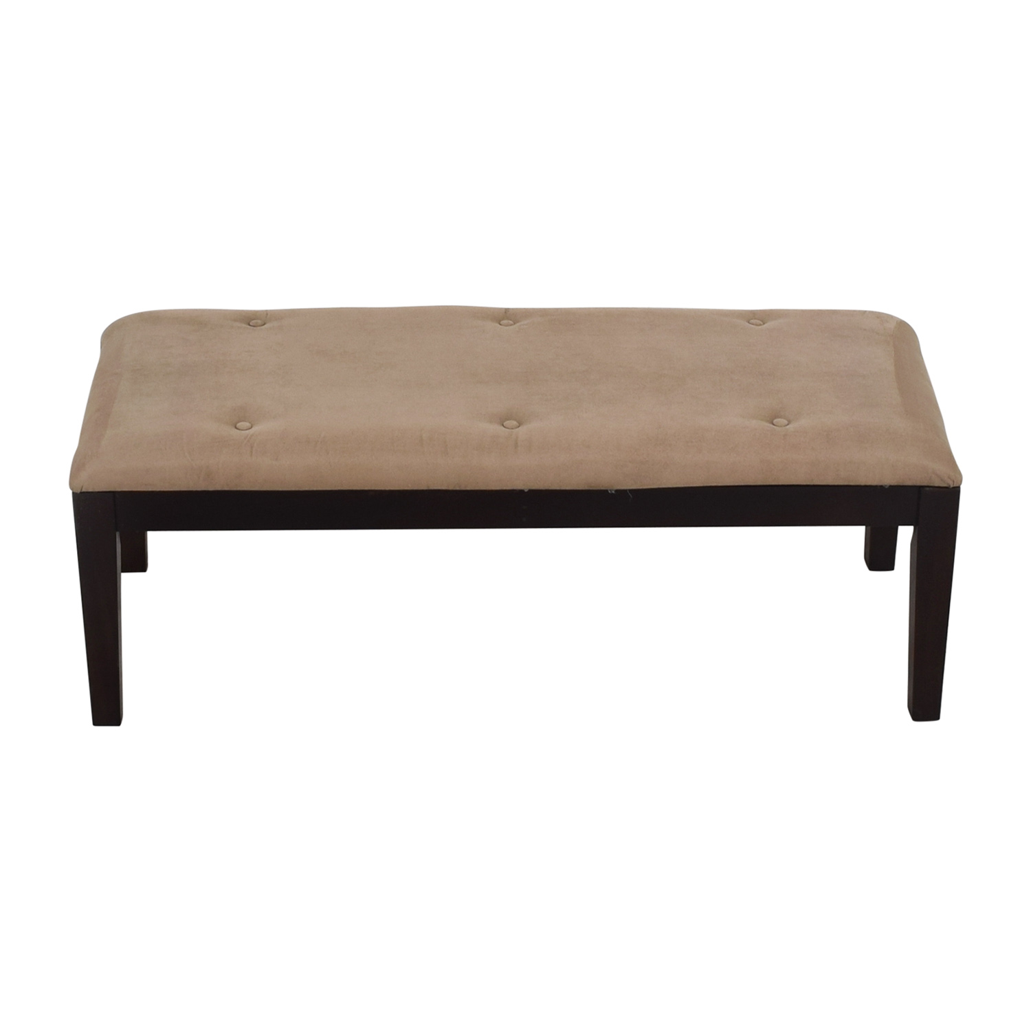 buy Raymour & Flanigan Brown Foot Bench Raymour & Flanigan Chairs