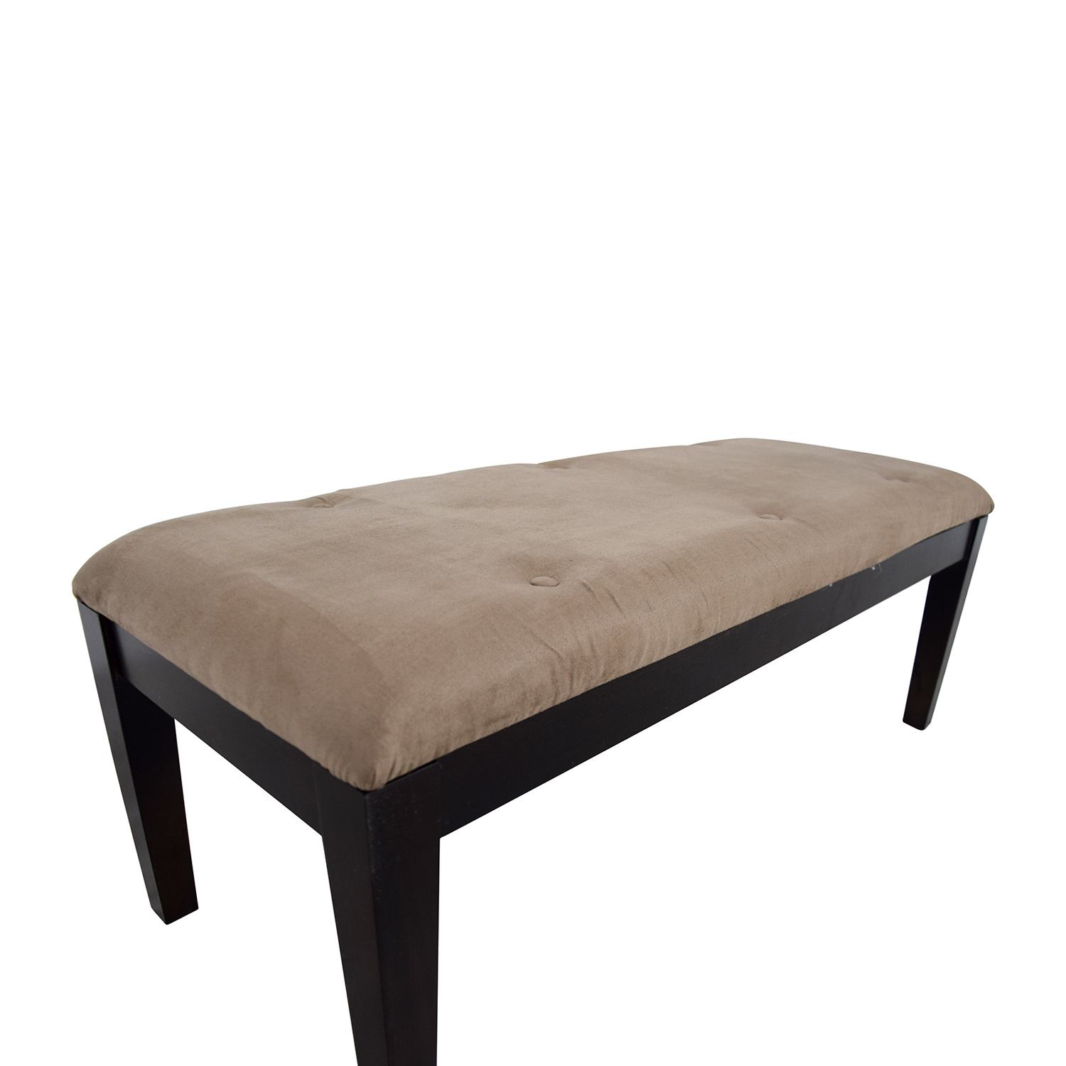 Raymour & Flanigan Raymour & Flanigan Brown Foot Bench discount