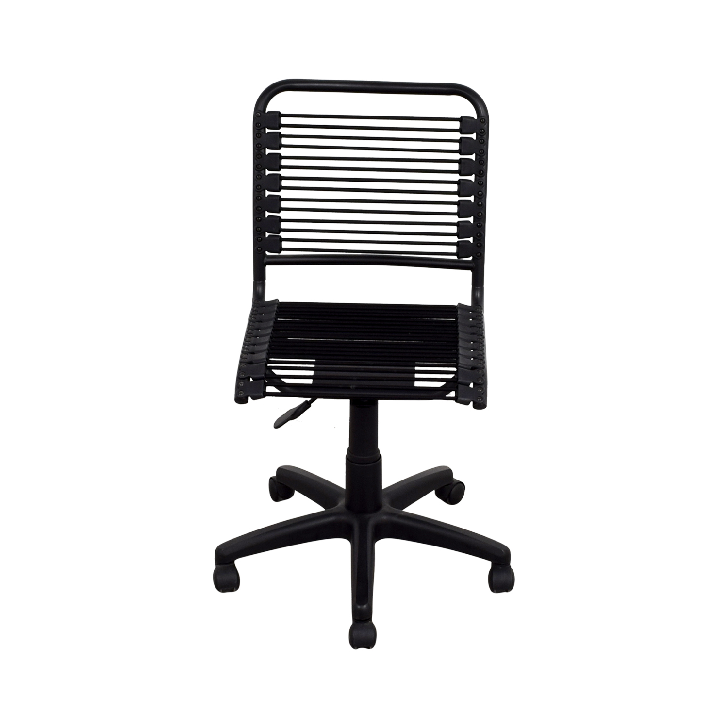 Container Store Black Office Chair sale