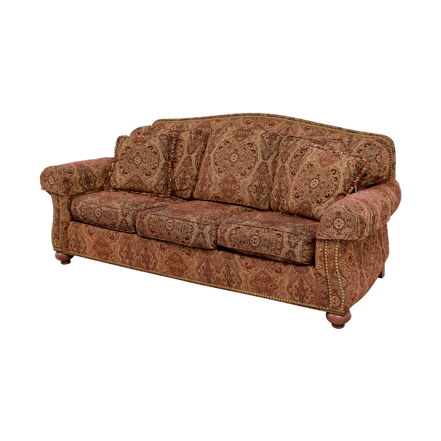 Paisley Sofa Simmons Paisley Sofa Emory Brownstone Thesofa