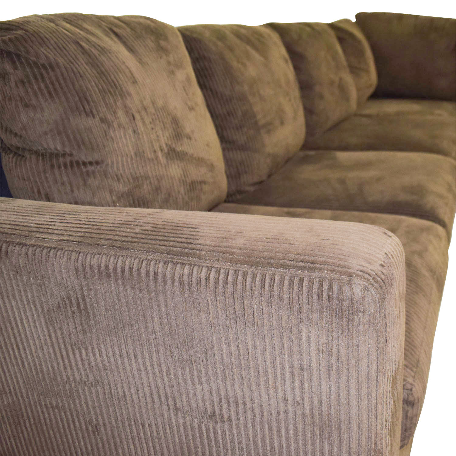 Brown Corduroy Couches