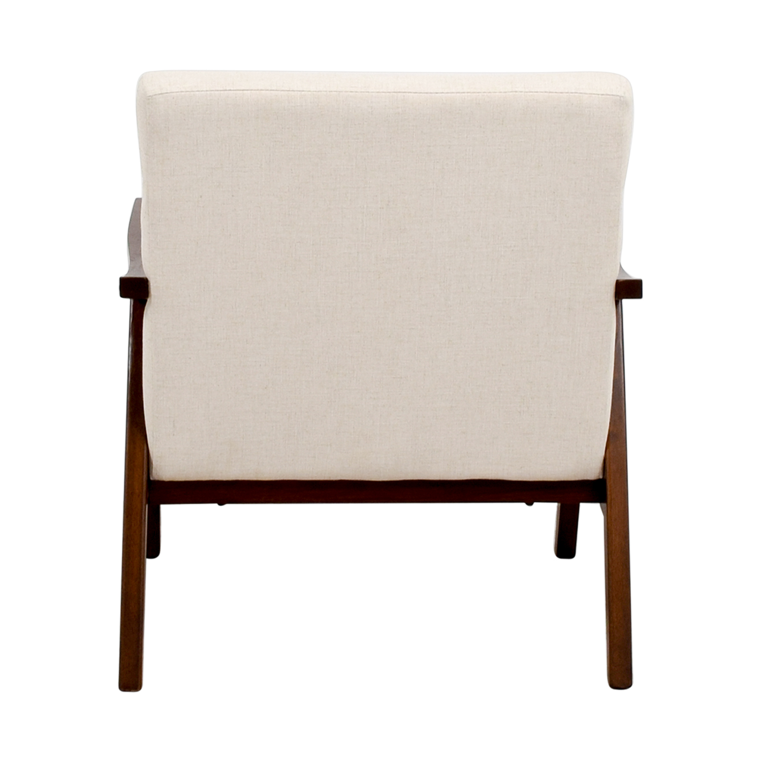 Coral Springs White Linen Side Chair / Chairs
