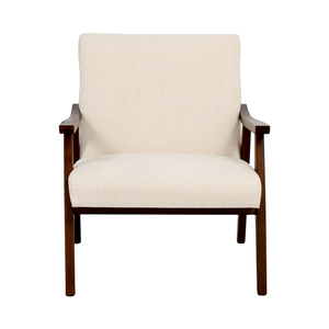 shop Langley Street Coral Springs White Linen Side Chair online