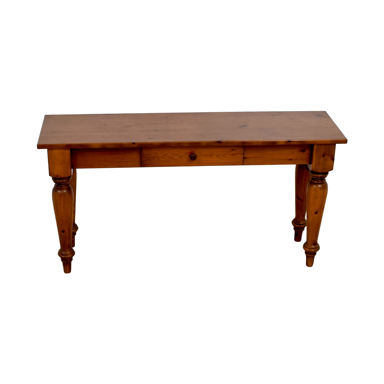 Wood Console Table second hand