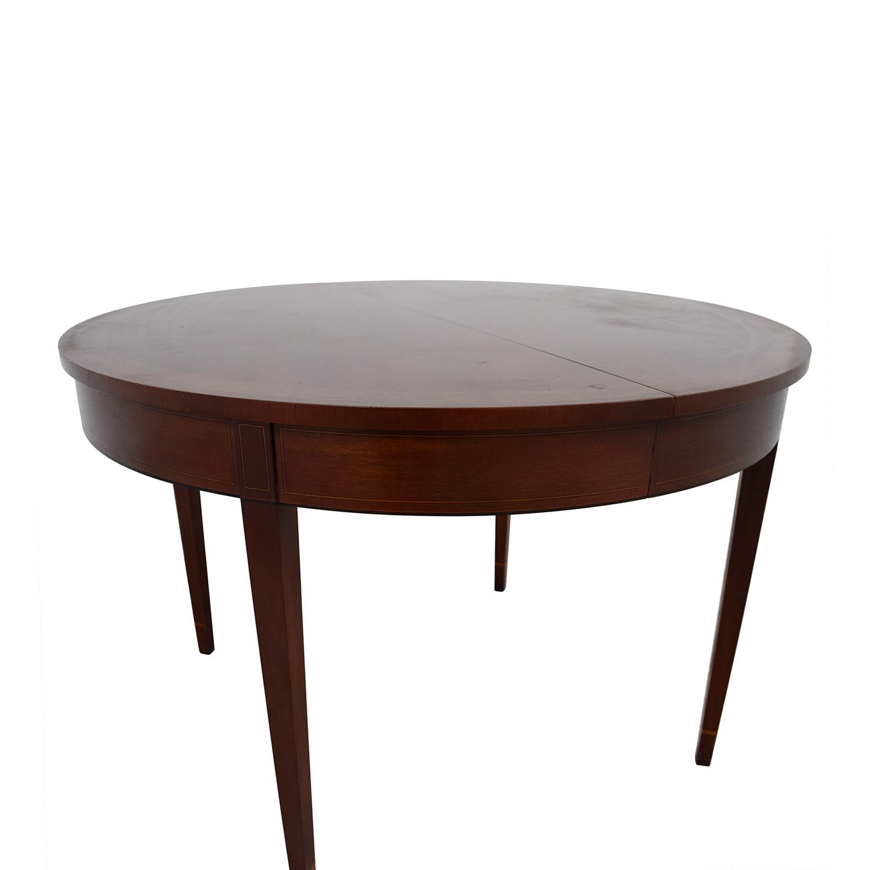shop Stickley HIC 8301-40 Round Wood Table Stickley