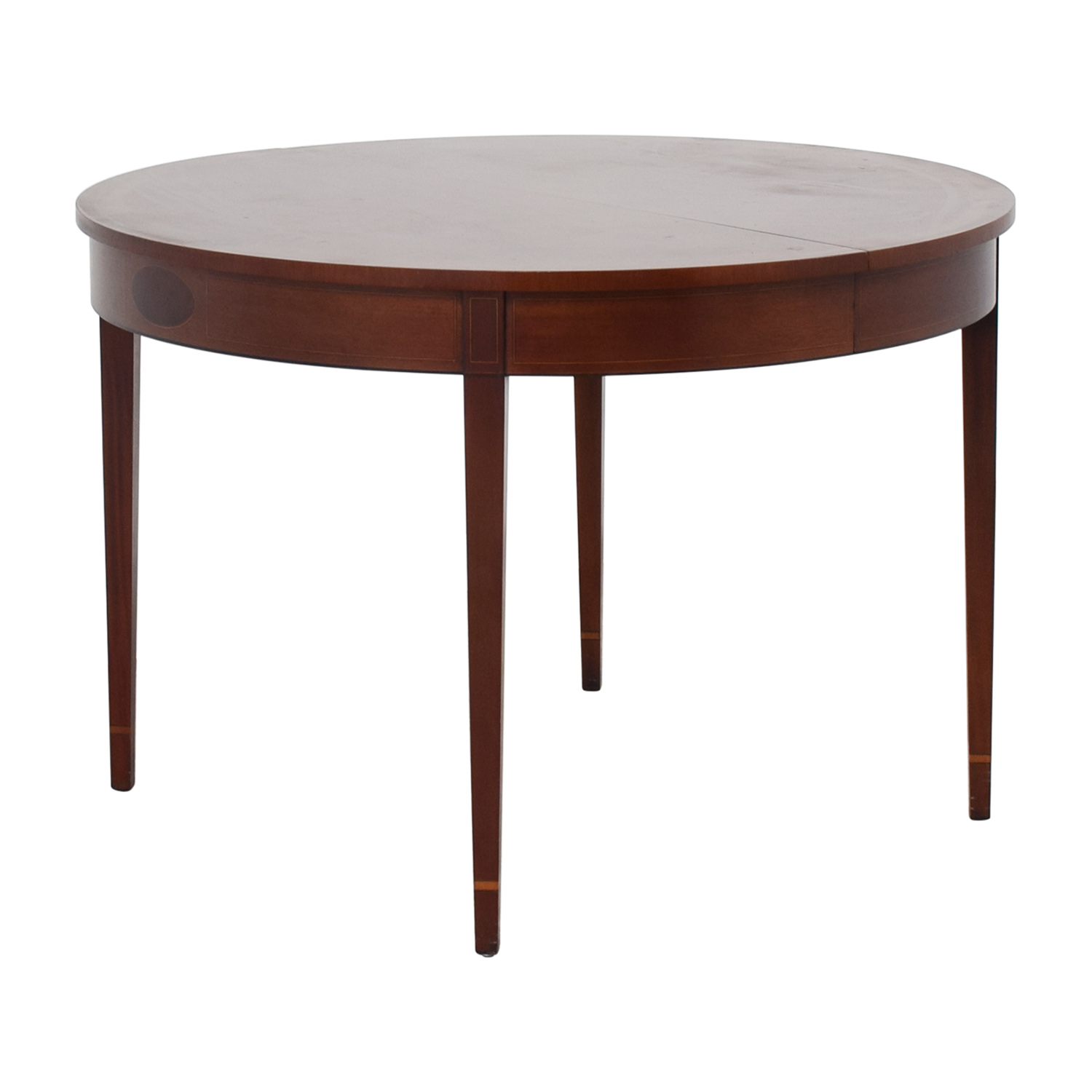 shop Stickley HIC 8301-40 Round Wood Table Stickley Dinner Tables