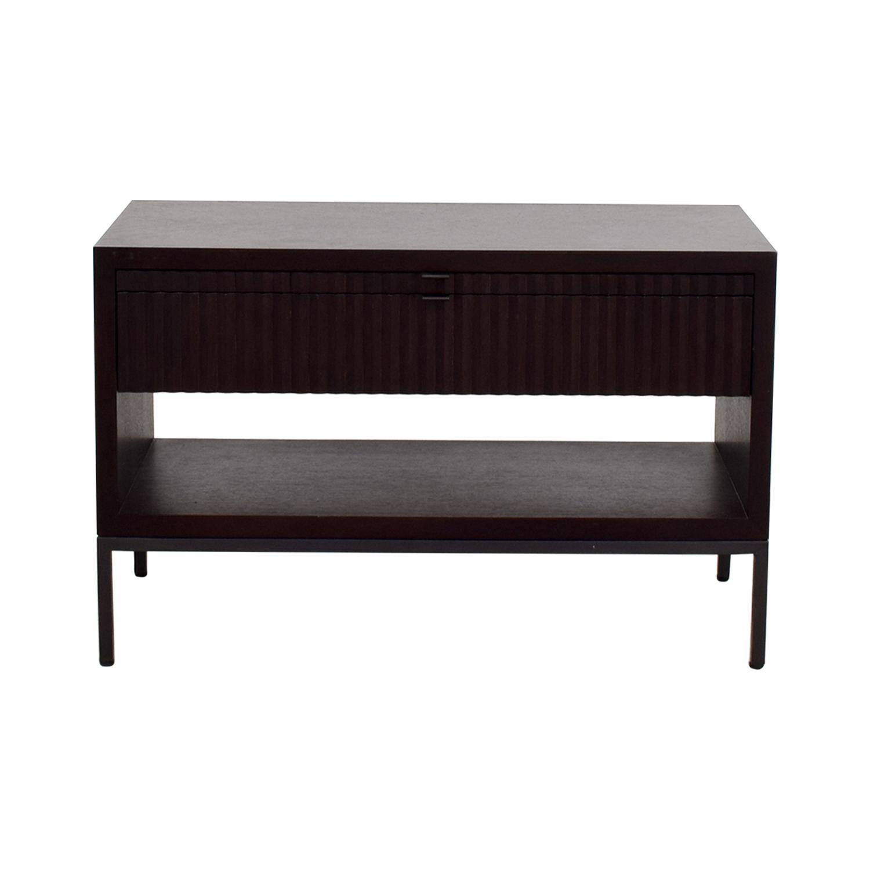 buy Bolier & Company Domicile Zoe Large Bedside Table Bolier & Company Storage