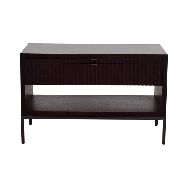 buy Bolier & Company Domicile Zoe Large Bedside Table Bolier & Company