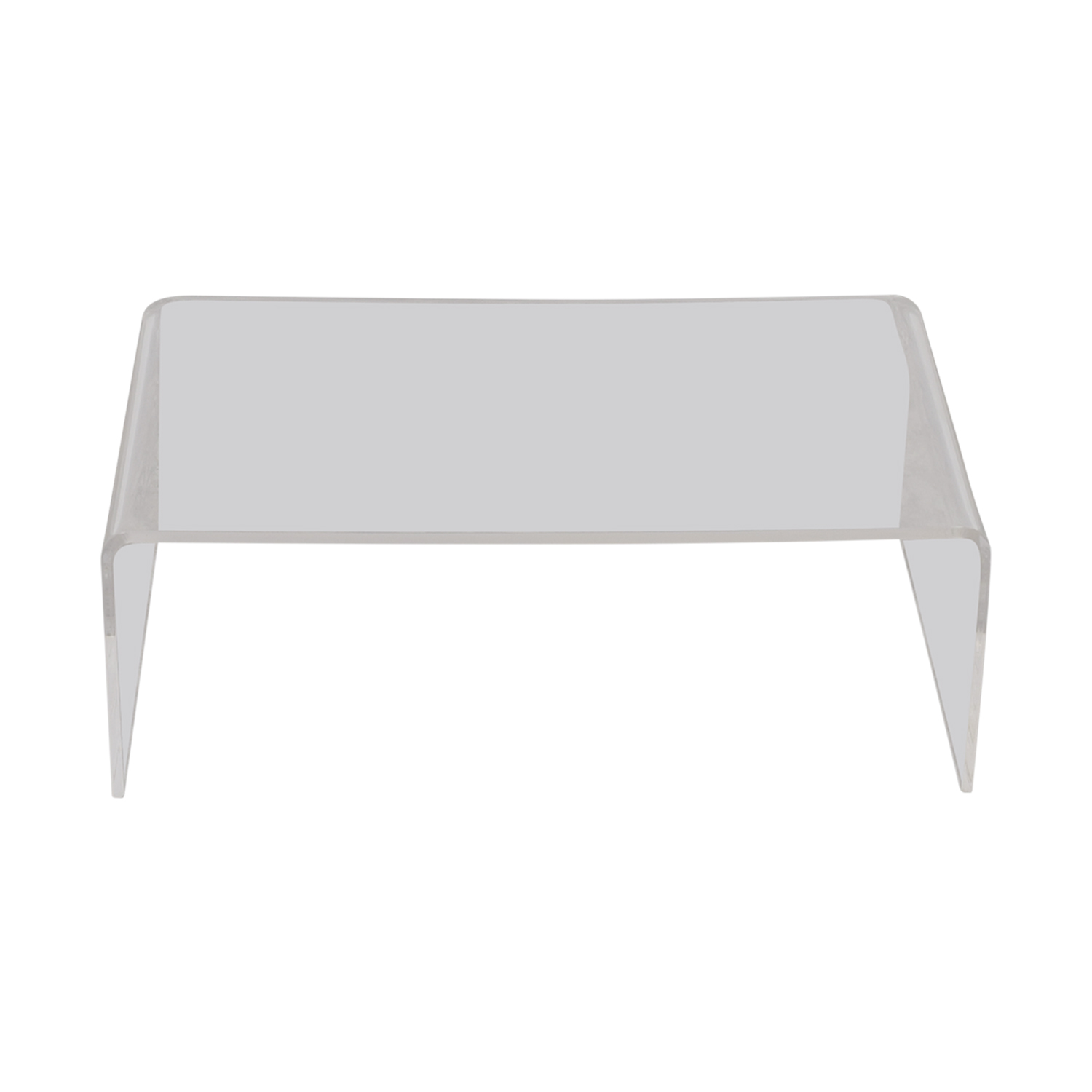CB2 Peekaboo Acrylic Coffee Table CB2