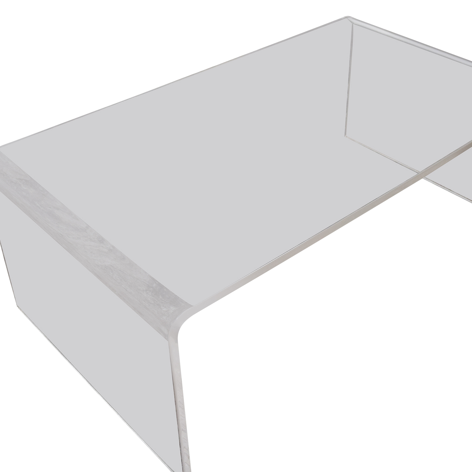 30% OFF CB2 CB2 Peekaboo Acrylic Coffee Table Tables