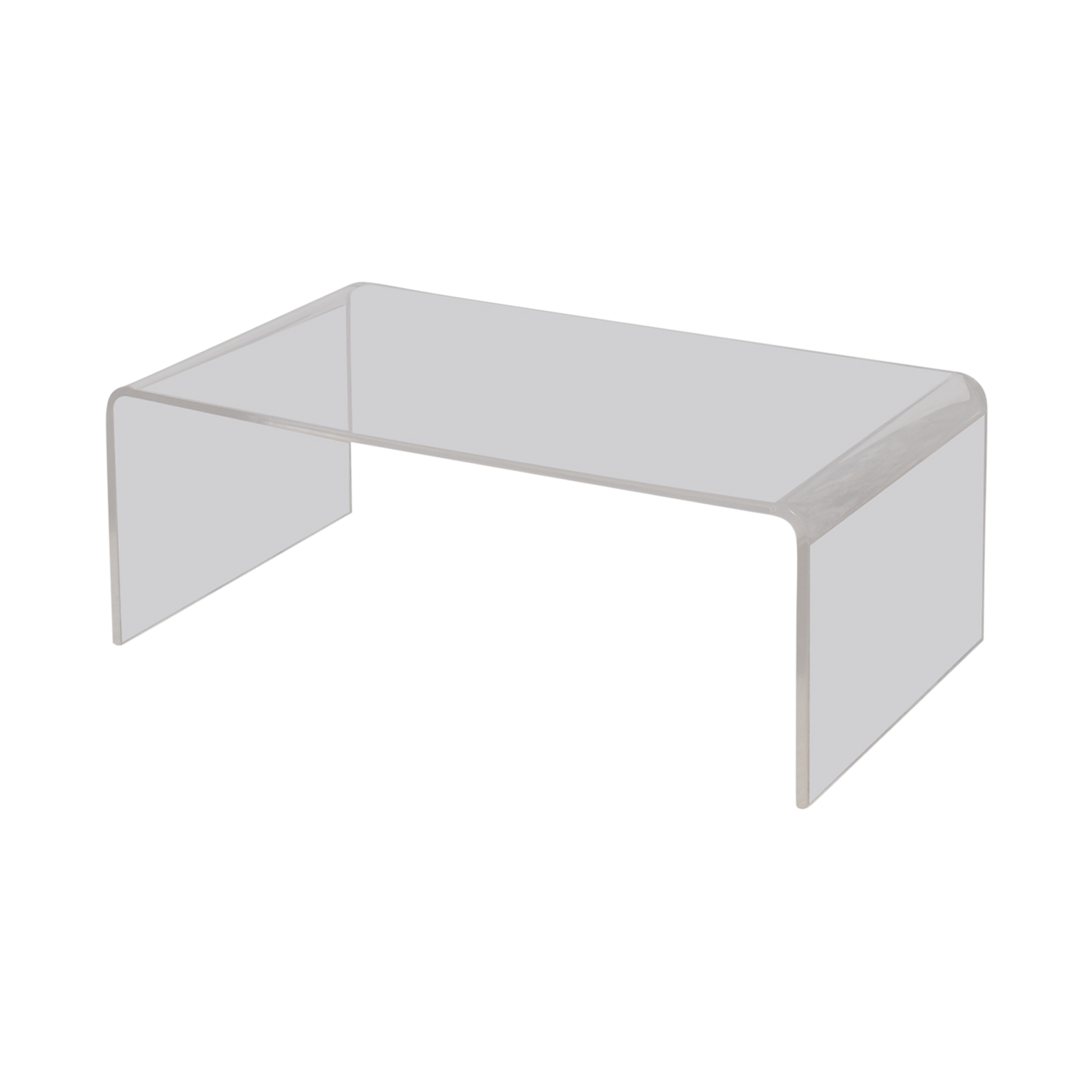 OFF CB2 CB2 Peekaboo Acrylic Coffee Table Tables