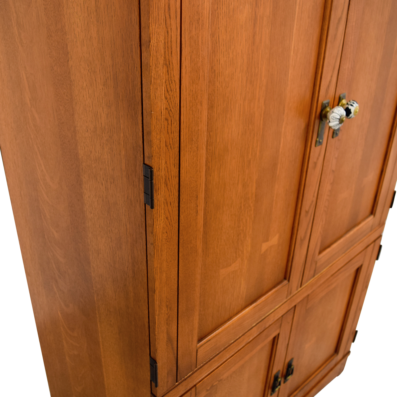 shop Wood Armoire Media Cabinet online