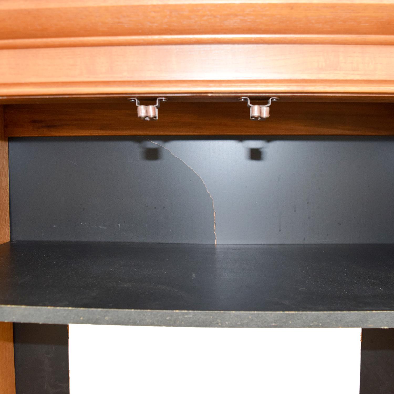 Wood Armoire Media Cabinet / Storage
