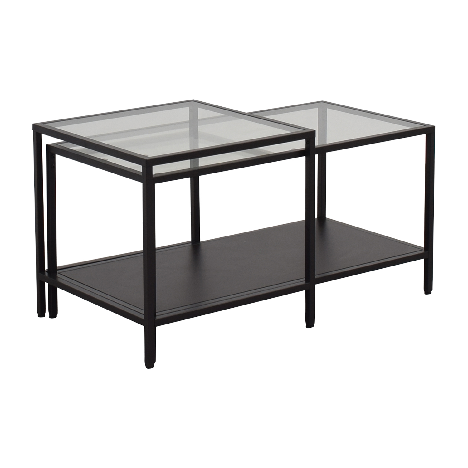 51 Off Ikea Ikea Nesting Coffee Tables Tables