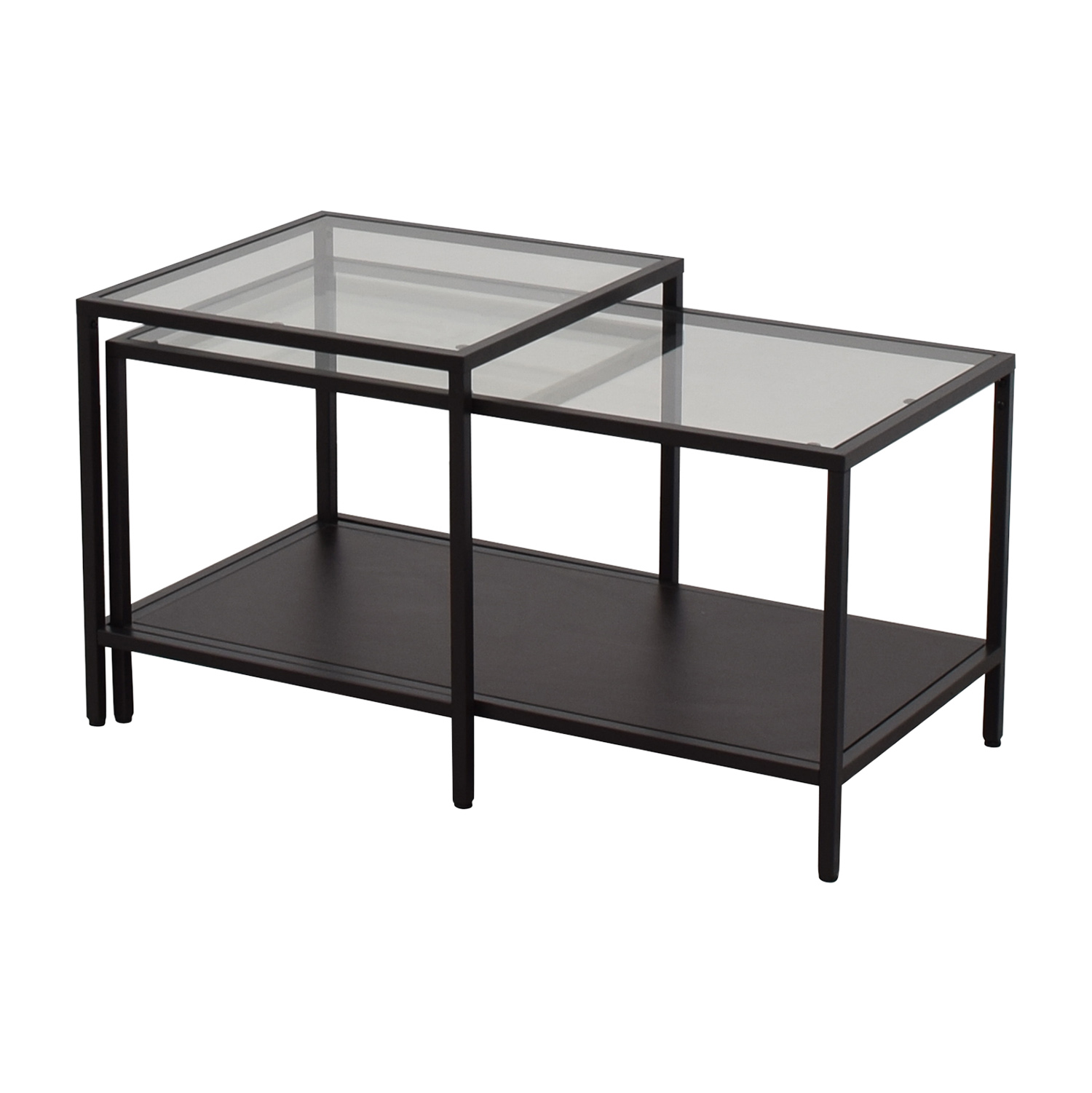 51 off ikea ikea nesting coffee tables tables. Black Bedroom Furniture Sets. Home Design Ideas