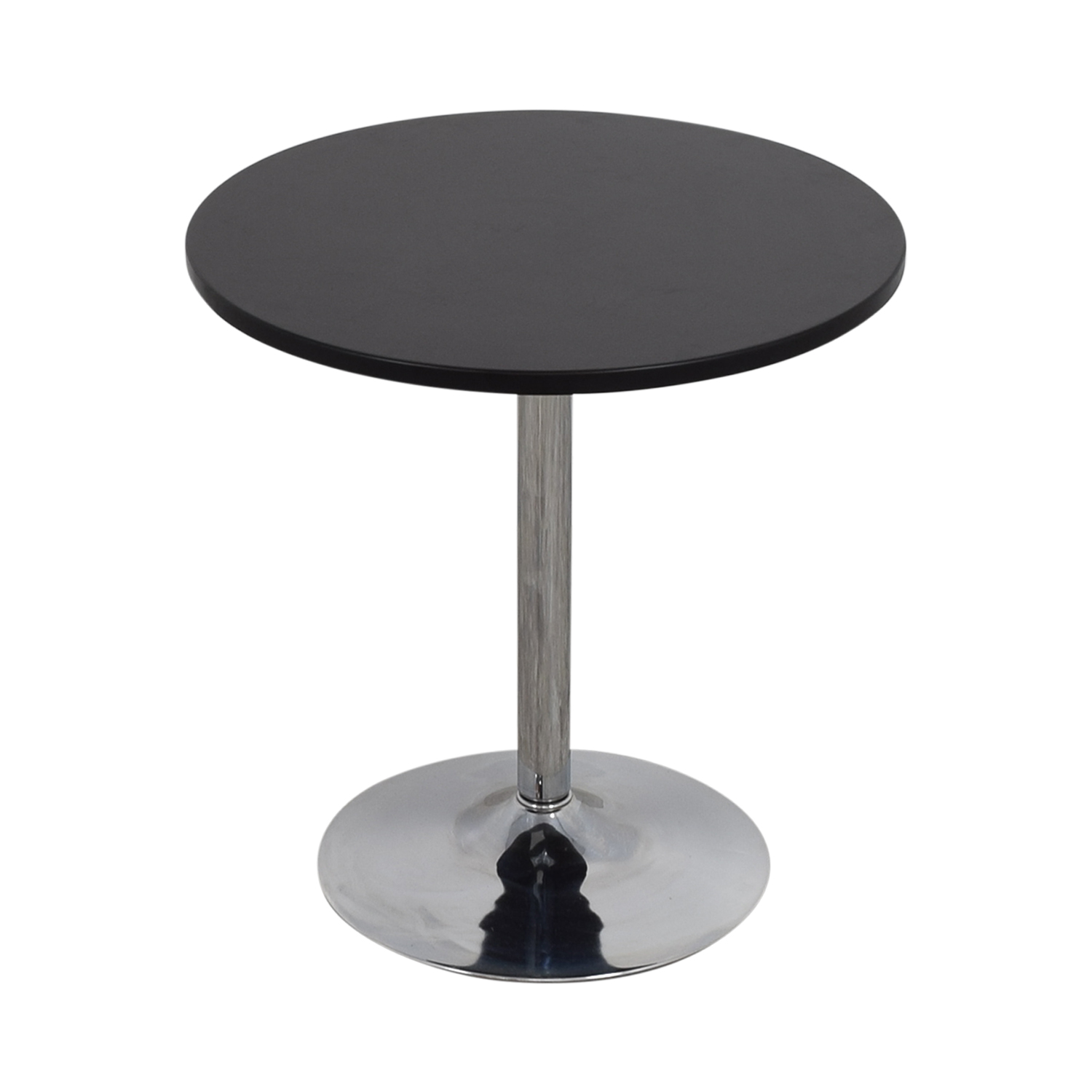 CB2 CB2 Wood and Chrome Cafe Table Tables