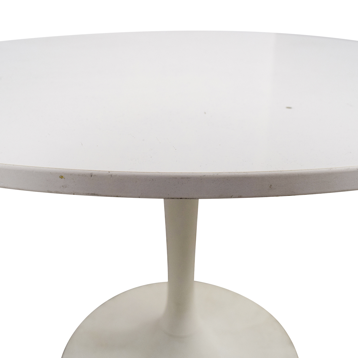 shop Jetson White Round Table Dinner Tables