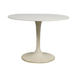 Jetson White Round Table