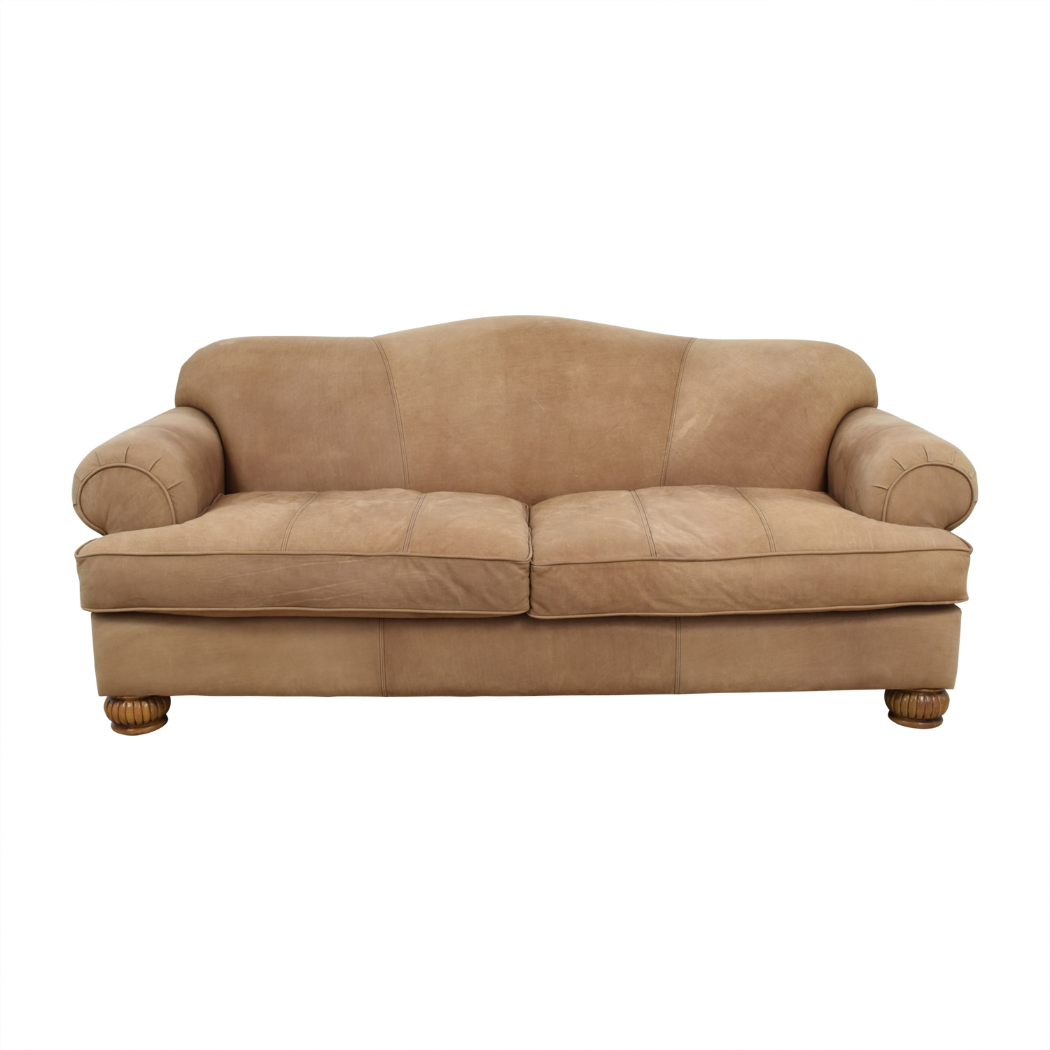 Suede sofas home the honoroak for Suede sectional