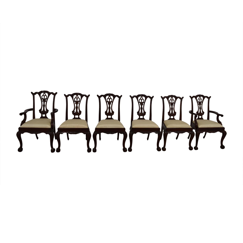 buy Maitland Smith Hand Carved Mahogany Chairs Maitland Smith Chairs