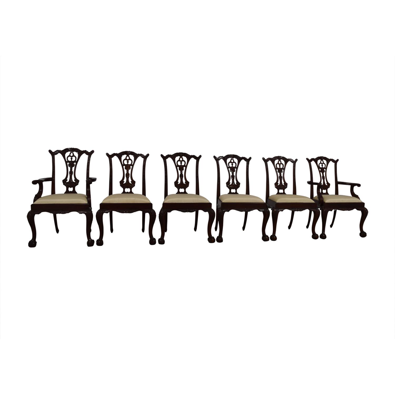 shop Maitland Smith Maitland Smith Hand Carved Mahogany Chairs online