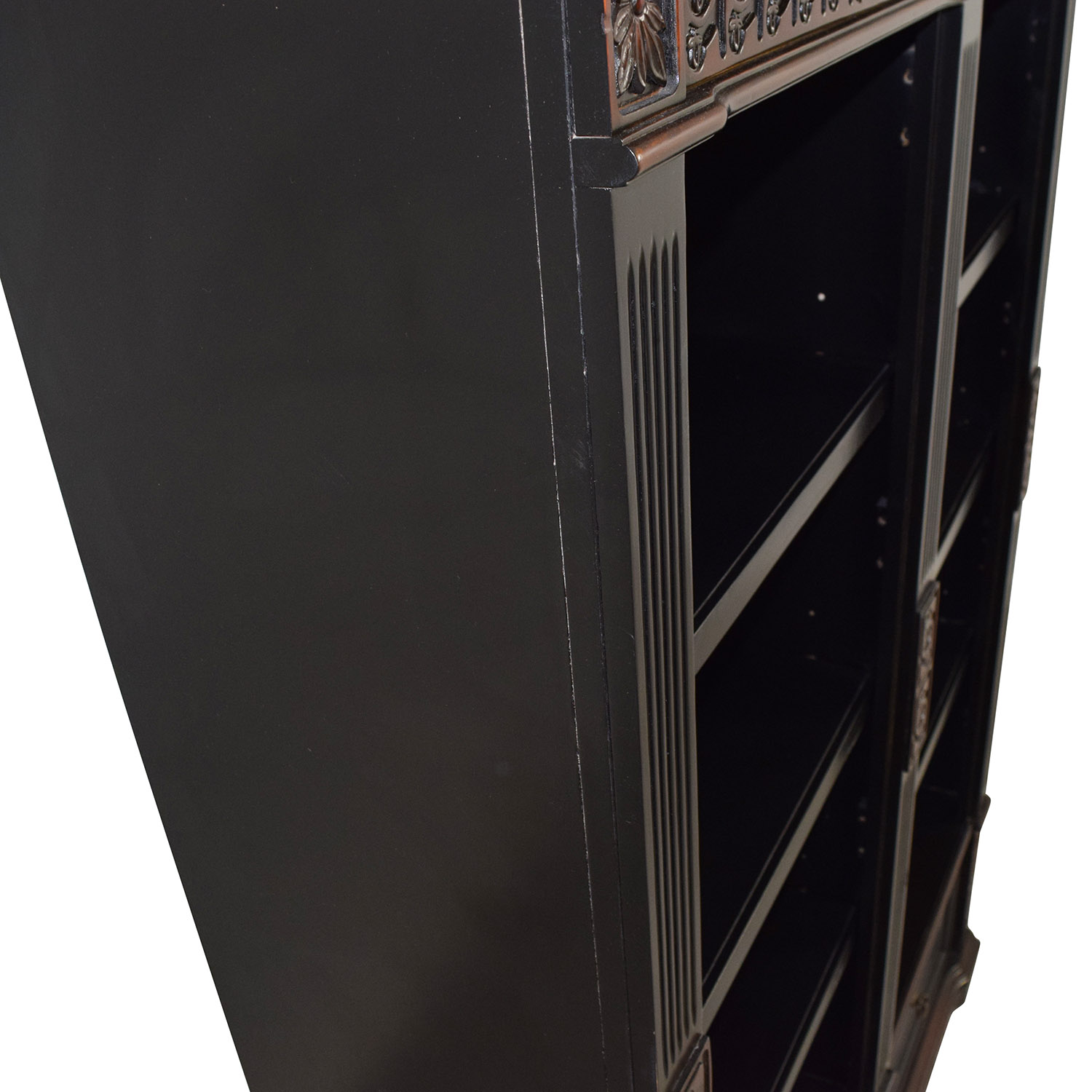 buy Coaster Furnitiure Nicolas Traditional Carved Double Bookcase Coaster Furniture Bookcases & Shelving