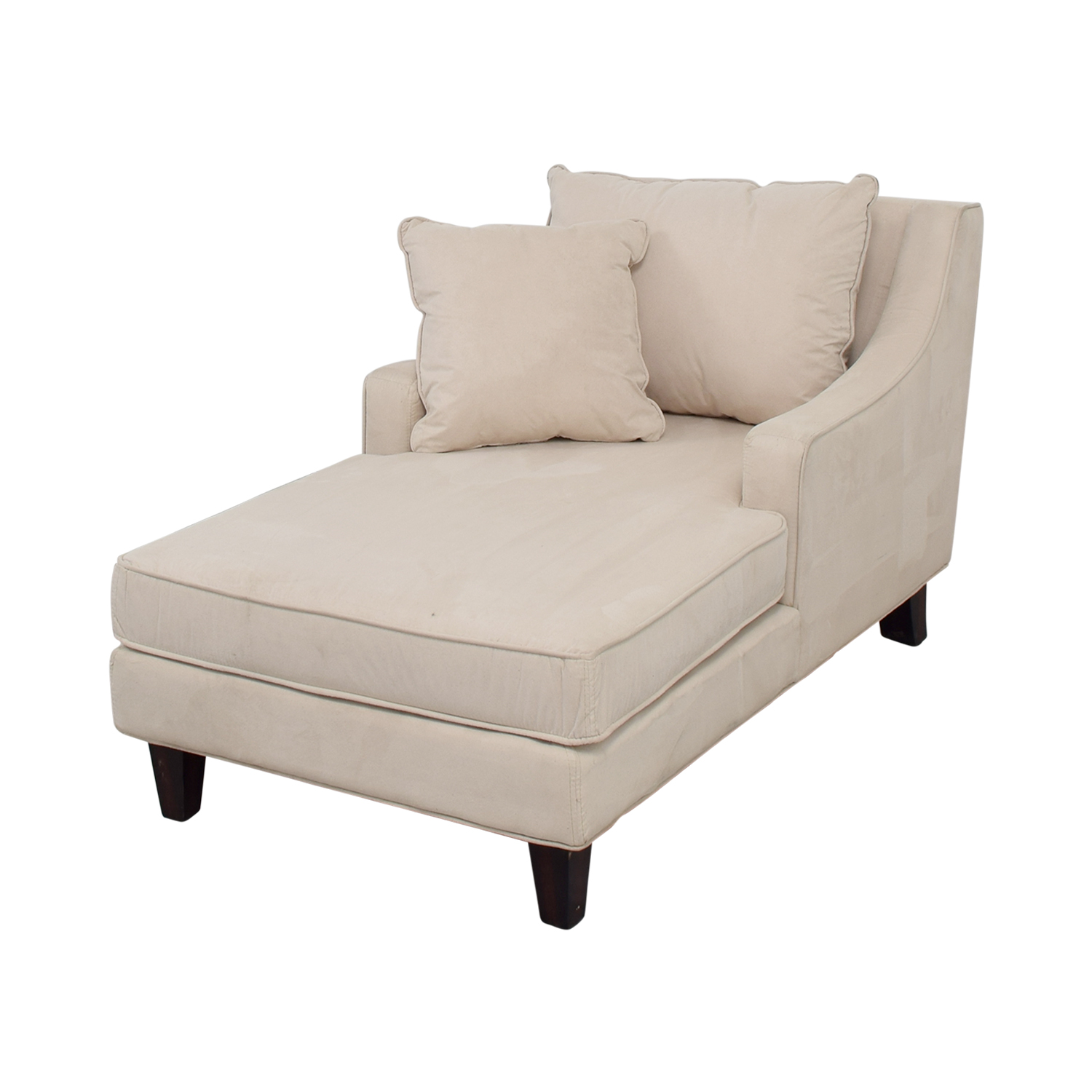 fantastic upholstered chaise ideas legs sized design white over lounge short sofa with simple wooden microfiber