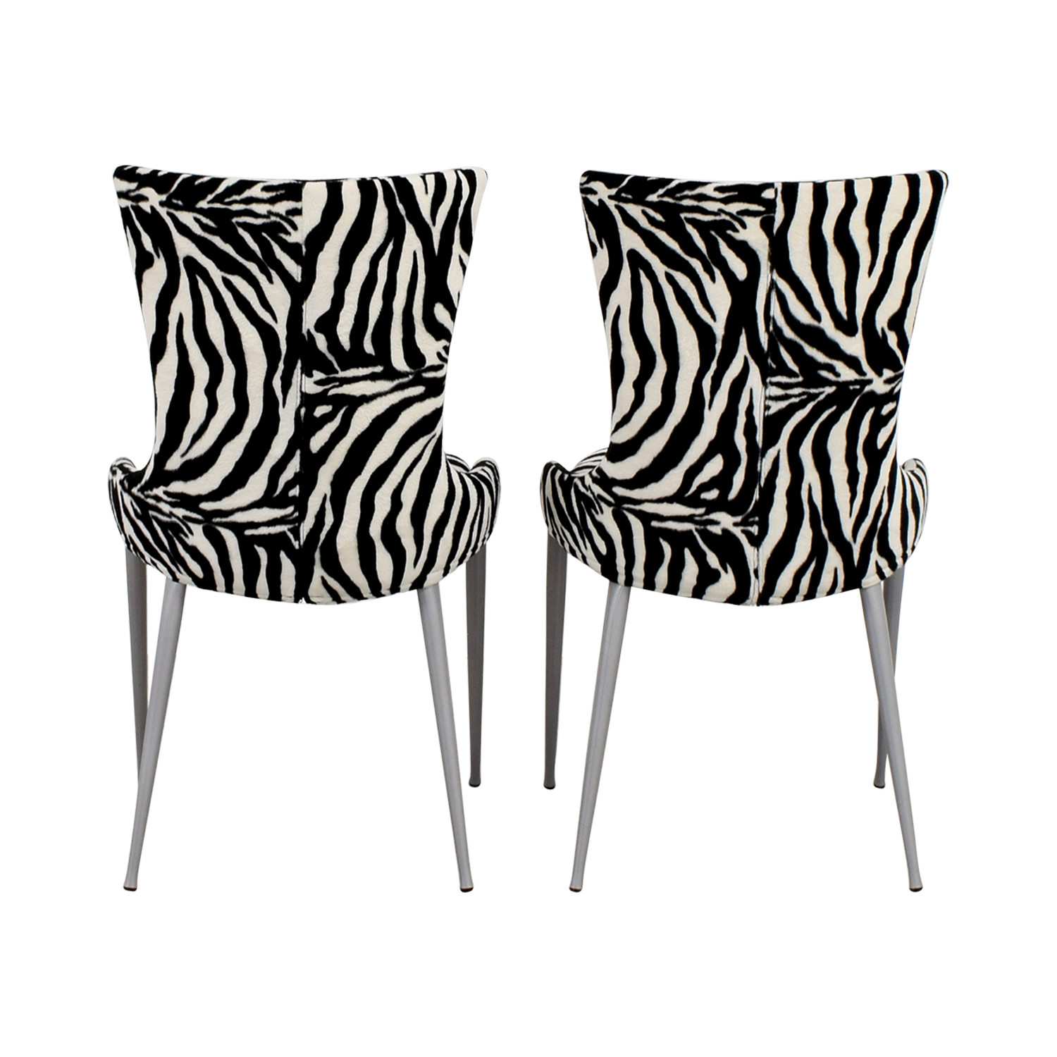 European Furniture Company European Furniture Company Contemporary Zebra Dining Chairs nyc